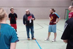 Verabschiedung unseres Coaches Manuel Beuchert