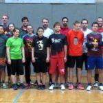 Gruppenfoto beim Ultimate Frisbee Turnier in Fulda