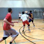 Ultimate Frisbee beim Training